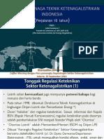 Kompetensi Tenaga Teknik Ketenagalistrikan Indonesia