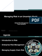 CISCO Risk Management