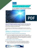 Cisco UCS S3260 Storage Server With MapR Converged Data Platform and Cloudera Enterprise
