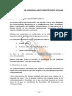 Farmacología Hormonal Corticoesteroides e Insulina