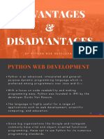 Advantages & Disadvantages of Python - ProBytes