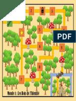Carte Du Monde 1 - Les Bois de l'Identité