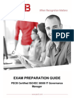 Pecb Iso 38500 It Governance Manager Exam Preparation Guide