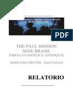 Relatorio Mision Paulo Brasil