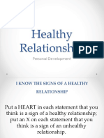 Healthy Relationship 2