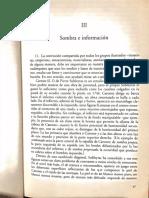 Baxandall III Sombra e Información