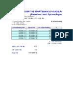 PM Usage Rate Calculator Master