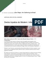 Decks Injustos Do Modern_ Infect – MANAFIX
