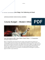 Coluna Budget – Modern White Auras – MANAFIX