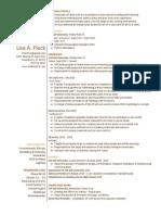 Printable Resume