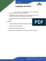 Manual de Instalação Do Driver GC420t