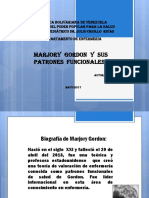 Margorie Gordon y los patrones funcionales