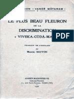 119216305 Viveka Cuda Mani Les Plus Beau Fleuron de La Discrimination