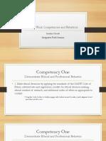 social work competencies and behaviors