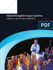 Global Navigation Space Systems Reliance and Vulnerabilties