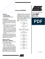 Accessing the EEPROM