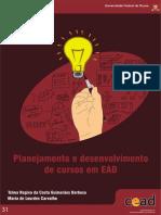 BARBOSA Planejamento de Desenvolvimento de Cursos Em EAD