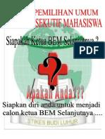 Pamflet KPU