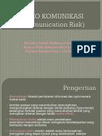 Resiko Komunikasi (Communication Risk)