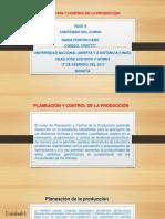Presentación Del Curso Planeación y Control_Inicio