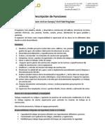 Descripción de Funciones Ingeniero Civil