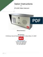 Intercom Predator - Cell Box - Call Box - Manual