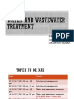 Water Wastewater Treatment