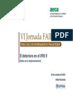 El Deterioro Del Credito en La IFRS 9 - Aeca