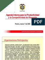 4.4 Agenda Interna Risaralda