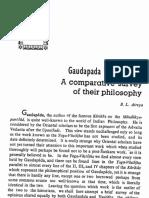 Gaudapada and Vasistha - B.L. Atreya
