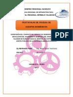 Gorehco Protocolos de Prueba Biomedico