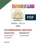 ELCTROMAGNETIC INDUCATION
