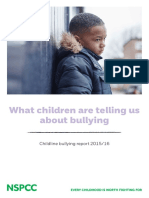 What Children Are Telling Us About Bullying Childline Bullying Report 2015 16