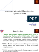 Grp2 Seminar Computer Integrated Manufacturing