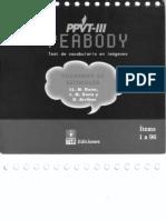 Peabody - Cuaderno Estímulos