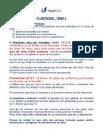 Serie _Plantados_ Tema 4