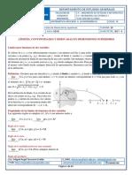 Límites, Continuidades y Derivadas en Dimensiones Superiores