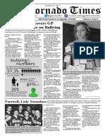 Tornado Times Vol. 4, Issue 1