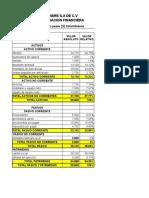 Anal. e Interpretacion de Estados Financiero Tarea IV