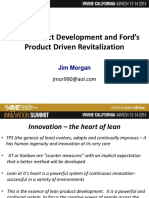Lean Product Development at Ford