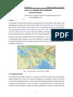 Geology of Jordan