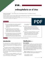 Tratamiento Prehospitalario en El Ictus