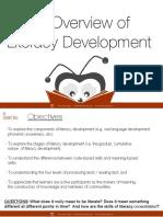 An Overview of Literacy Development Share