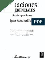 Ecuaciones Diferenciales. Acero, López-1