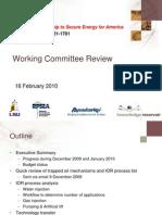 07121-1701_KR Presentations_Working Committee_16 Feb 2010