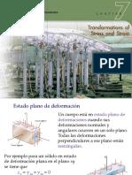 Clase 23 - Transformación de Deformaciones