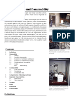 Combustibility and Flammability