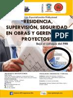"""""""RESIDENCIA, SUPERVISIÓN, SEGURIDAD EN OBRAS Y GERENCIA DE PROYECTOS"""" (bajo el enfoque del PMI).pdf"""