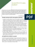 Qué Dice El Informe Del IPCC GT II Sobre La Alimentación y La Agricultura