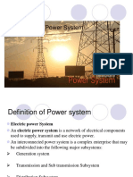 Structure of Power System